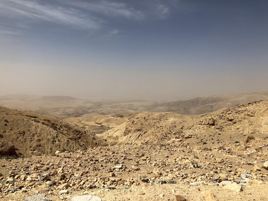 berg nebo jordanien